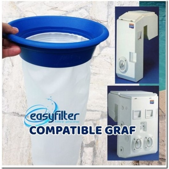 Poche Easyfilter compatible Graf – EVERBLUE - POOLLINE